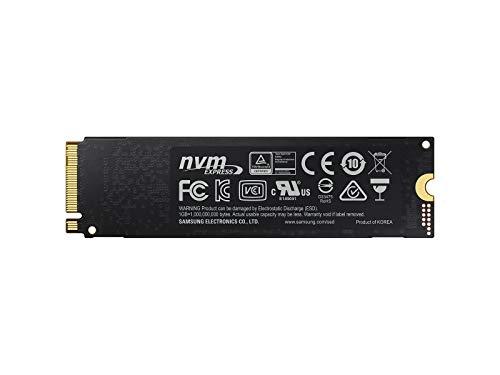 Samsung MZ-V7P1T0BW SSD 970 PRO 1 TB M.2 Interne...