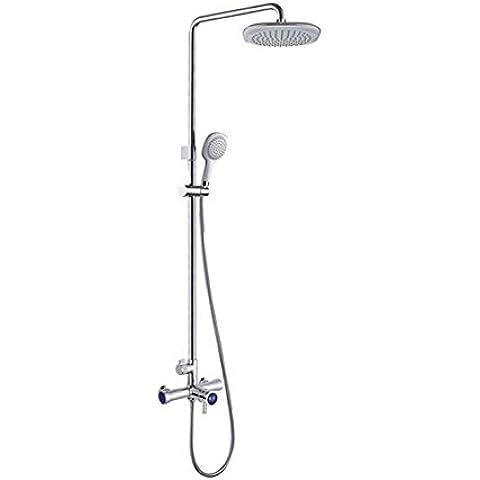 Cuarto de baño con ducha de refuerzo general de la función de elevación de lujo baño ducha toca Configurar