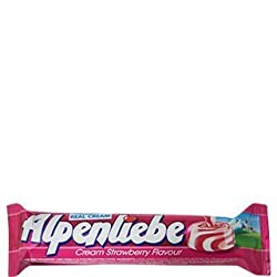 Alpenliebe Gold Cream Strawberry Flavour 28GM (Pack Of 15)