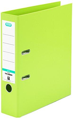 Elba-Smart-100202175-Classeur--levier-Dos-80-mm-A4-Vert