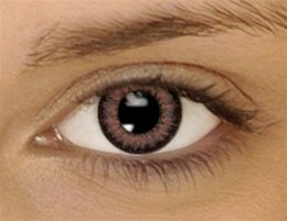 BROWN Colored Contacts Kontaktlinsen Dual Tone Farbige Kontaktlinsen Contact Lenses * FREE case included