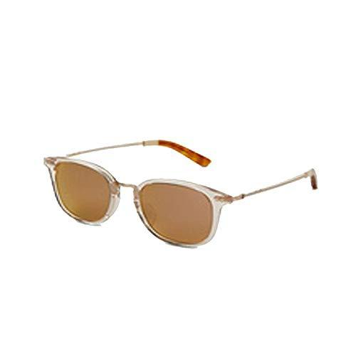(TOMS 10008797 Unisex Weiß Kunststoffrahmen Orange Linse Runde Sonnenbrille)