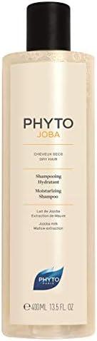 Phyto Phytojoba Shampoo Idratante per Capelli Secchi con Latte di Jojoba, Dona Morbidezza e Leggerezza, Format