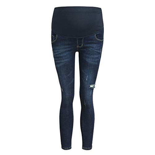 Pantaloni Premaman Topgrowth Jeans Donna Incinta Regolabile Pantaloni Elastico Skinny maternità Cintura Infermieristica Addome Casual Gravidanza