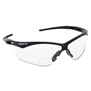 Nemesis RX Safety Glasses, 1.0X Clear by Allsafe
