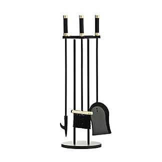 Premier Housewares Iron Companion – Juego de Accesorios para Planchar, 3 Piezas, Color Negro