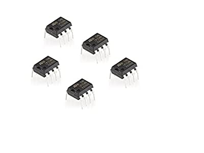 Dual Operational Amplifier LM358 IC in pack of 5 pcs
