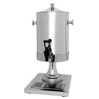 Lait/Distributeur à eau/à jus-Urne-Acier inoxydable - 6,5 litres-Idéale pour les buffets et les établissements en libre service.