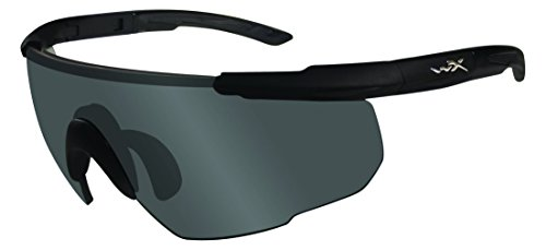 Wiley X Schutzbrille Saber Advanced Sonnenbrille, Unisex, Saber Advanced, Matte Black/Smoke Grey/Clear/Light Rust, M/XL