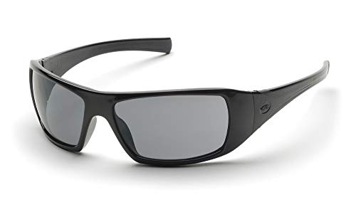 Pyramex SB5620DT Goliath Safety Sunglasses with Gray Anti-Fog Lens, Black by Pyramex Safety