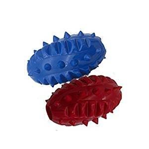 Hundespielzeug zum Kauen, umweltfreundlicher Dinosaurier Snack Ball aus TPR, sowohl für Welpen als auch für große Hunde(2 Stück) (Haus Hund Die Große Outdoor)