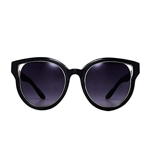 Easy Go Shopping Damen Outdoor Reise Sonnenbrille, Mode polarisierte Sonnenbrille, UV400 verspiegelte Linse Sonnenbrille Sonnenbrillen und Flacher Spiegel (Farbe : C1-Grey Gradient)