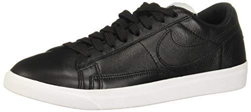 Nike Damen W Blazer Low Le Basketballschuhe, Schwarz Black/White/Gum Light Brown 001, 39 EU (- Brown-leder-blazer)