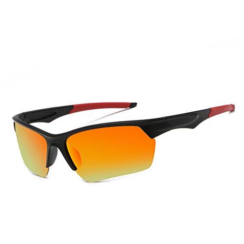 DAUCO Polarisierte überbrille Sport Sportbrille Fahrradbrille mit UV400 Schutz für Damen und Herren Autofahren Laufen Radfahren Angeln Golf