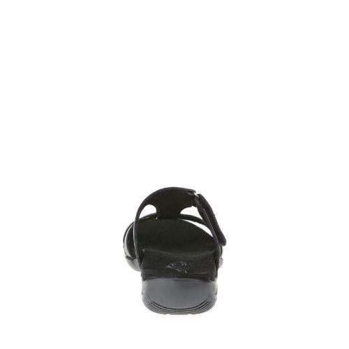 Easy Street Blaze Breit Synthetik Sandale Black Burnish