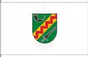 Königsbanner Autoflagge Darscheid - 30 x 45cm - Flagge und Fahne