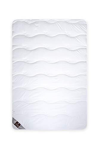 sei Design Aloe-Vera Premium Winter-Bettdecke 155x200 gesteppt | schadstoffgeprüft Öko-Tex | mit Aloe Vera Extrakt - entzündungshemmend und hautpflegend