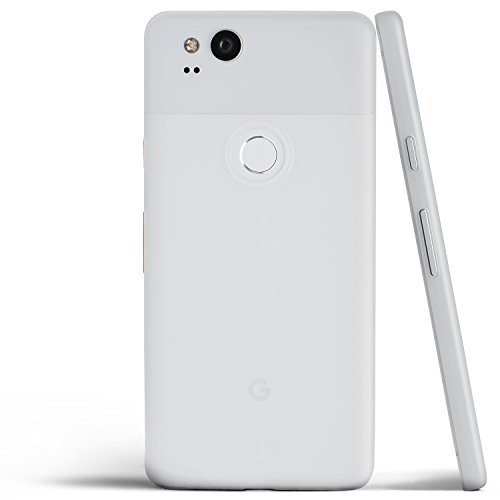Pixel 2 Case, Thinnest Cover Premium Ultra Thin Light Slim Minimal Anti-Scratch Protective - For Google Pixel 2 | totallee (Frosted White)