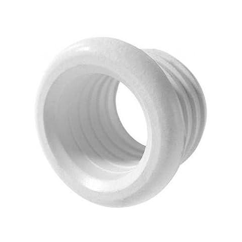 Polypipe tuyau de patron connecteur en caoutchouc déchets emboîtement de l'adaptateur réducteur 40mm x 25mm blanc