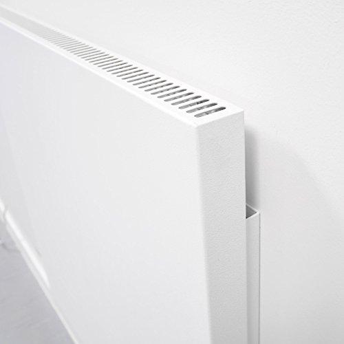 VASNER Konvi Infrarotheizung mit Thermostat 1200 Watt Hybridheizung inkl Wandmontage 2J Bild 3*