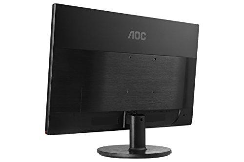 "AOC G2460VQ6 61 cm (24"") Monitor (VGA, HDMI, DisplayPort, 1920 x 1080, 75 Hz, 1ms response time) Black"