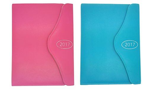 2017-executive-a5-pink-teal-day-per-page-appointment-index-letter-effect-diary