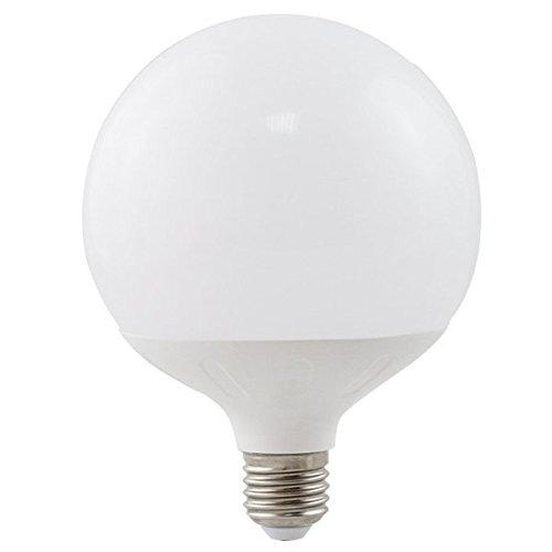 lineteckled® a03.001.20F Leuchtmittel LED Globo mit Sockel E2720W Kaltlicht 6400K 230V–Hohe Helligkeit.