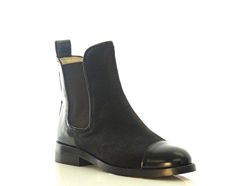 Clarks Women's Orla Daphne Black Interest Leather Boots - 5 UK/India (38 EU)