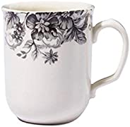 Claytan Georgeous Grey 1pc Multicolor320ml mug Round Earthenware