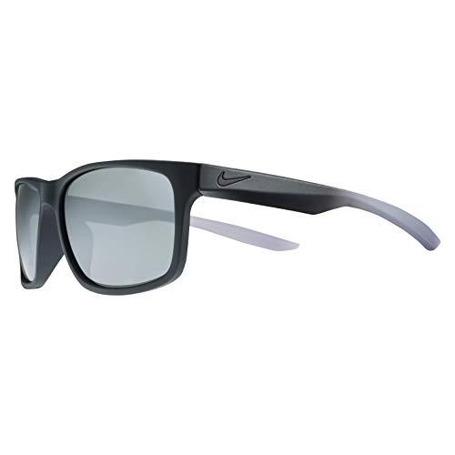 Nike Herren Essential Chaser Ev0999 009 59 Sonnenbrille, Silber (Mt Blk/Cl Gr W/Gry Sil Fl),