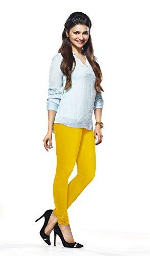 Lux Lyra Women\'s Yellow Churidar Leggings