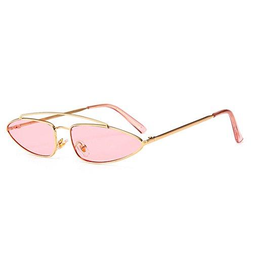 GUO Die Sonne Auge Metall Mode Sonnenbrille Männer und Frauen kleine Box B