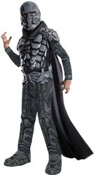 (General Zod Kostüm Superman Man of Steel für Kind Größe L 140cm)