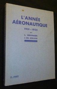 L'année aéronautique 1931-1932, 13e année