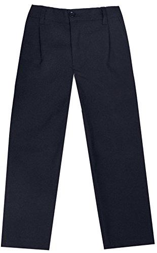 Paul Malone festliche Jungen Anzug Hose schwarz uni