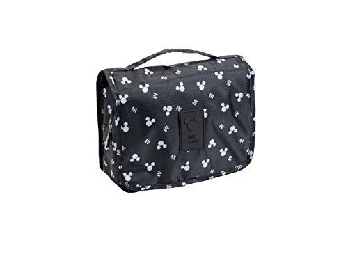 Disney Mickey Mouse Travel Bath Bag Black Toiletry Bag Storage