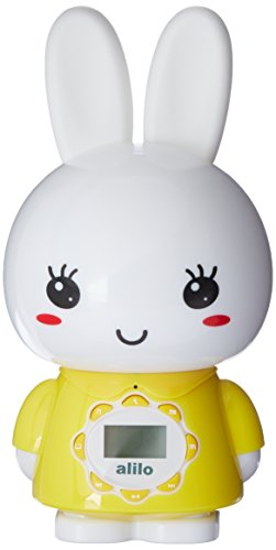 Alilo G7 Big Bunny digital player for kids with LCD screen and remote control, Yellow