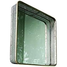 Espejo de metal de diseño industrial Olonne