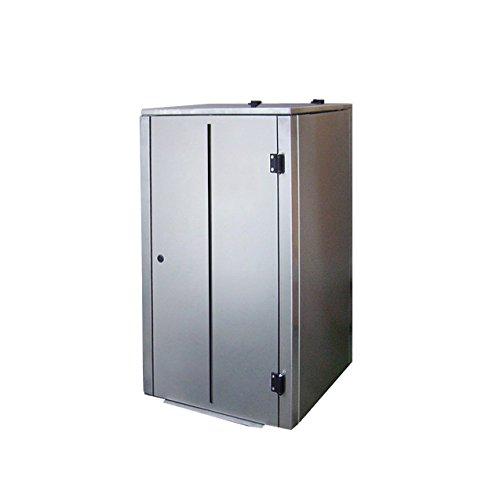 Mülltonnenboxen Edelstahl, Modell Eleganza Line V10, 240 Liter