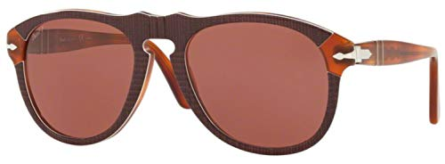 Ray-Ban Herren 0PO0649 Sonnenbrille, Braun (P.Galles Bordeaux), 52.0