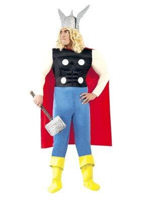 Costume Thor vichingo uomo 80721 Tg.Unica