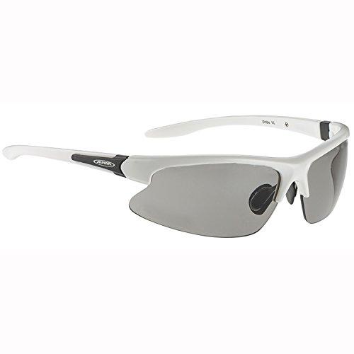 ALPINA Radsportbrille Dribs, weiss, A8371-410