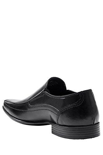 next Homme Chaussures sans Lacets À Empiècements - Pointure Large Noir