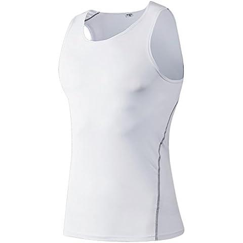 Jimmy Design Fitted Sleeveless Men's Sport Shirt Vest Tank Top