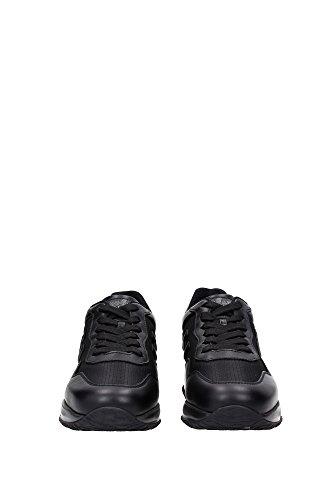 HXM00N0U041E4DB999 Hogan Sneakers Homme Cuir Noir Noir