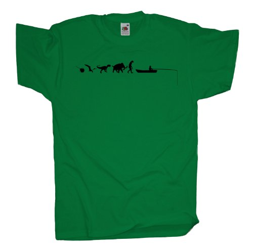 Ma2ca - 500 Mio Years - Hochseeangeln Angler T-Shirt Kelly