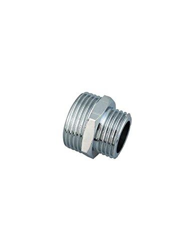 Réduction Mâle Raccords - Mâle laiton - Filetage 20 x 27 mm - 26 x 34 mm - Vendu par 1