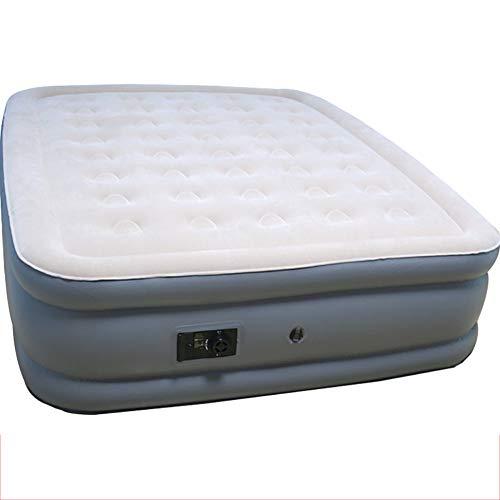 Aufblasbares Sofa Luftbett Lounge Aufblasmöbel Bequemen Für Das Home Office Draussen Eingebaute Luftpumpe,Large