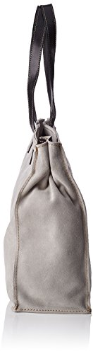FLY London Damen Sant578fly Tote, 9x31x27 cm Concrete/Black