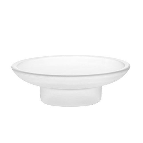 2x-frosted-glass-soap-dish-replacement-spare-for-bathroom-accessory-frosted